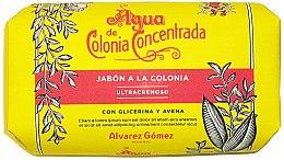 Düfte, Parfümerie und Kosmetik Alvarez Gomez Agua De Colonia Concentrada - Cremeseife mit Glycerin und Hafer