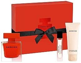 Düfte, Parfümerie und Kosmetik Narciso Rodriguez Narciso Rouge - Duftset (Eau de Parfum 90ml + Körperlotion 75ml + Eau de Parfum (mini) 10ml)