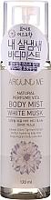 Düfte, Parfümerie und Kosmetik Tonisierender Körpernebel mit Duft nach weißem Moschus - Welcos Around Me Natural Perfume Vita Body Mist Musk