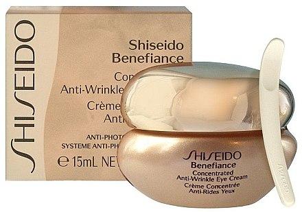 Regenerierende Anti-Aging Augencreme - Shiseido Benefiance Concentrated Anti-Wrinkle Eye Cream — Bild N2