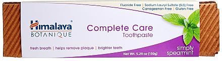 Zahnpasta mit Minzgeschmack Complete Care - Himalaya Botanique Complete Care Toothpaste Simply Mint — Bild N2