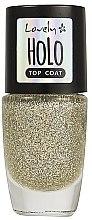 Düfte, Parfümerie und Kosmetik Nagelüberlack - Lovely Holo Top Coat