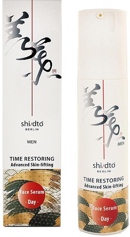 Straffendes Gesichtsserum für den Tag mit Lifting-Effekt - Shi/dto Men Time Restoring Advanced Skin-lifting Day Serum With Nio-Oxy And Hyaluronic Acid — Bild N1
