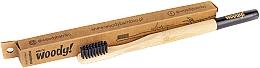 Düfte, Parfümerie und Kosmetik Bambuszahnbürste weich Colour schwarz - WoodyBamboo Bamboo Toothbrush