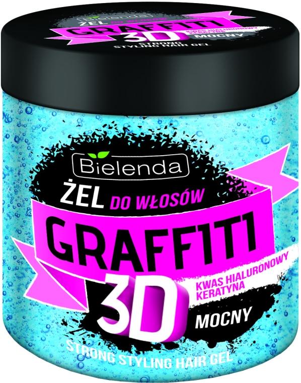 Haargel - Bielenda GRAFFITI 3D Strong Stayling Hair Gel — Bild N1