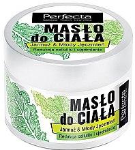 Düfte, Parfümerie und Kosmetik Straffende Körperbutter gegen Cellulite mit Grünkohl und Gerste - Perfecta Kale & Young Barley Body Butter