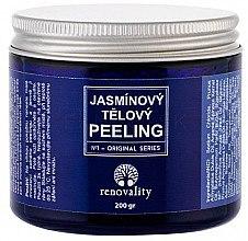 Düfte, Parfümerie und Kosmetik Jasmin Körperpeeling mit Meersalz - Renovality Original Series Jasmine Body Peeling