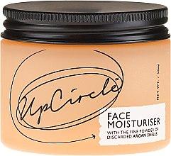 Feuchtigkeitsspendende Gesichtscreme mit Argan-Schalenpulver - UpCircle Face Moisturiser With Argan Powder — Bild N2