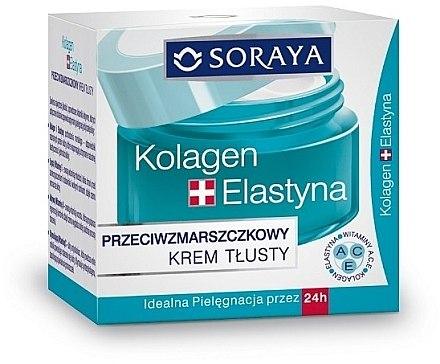 Anti-Falten Gesichtscreme mit Elastin, Collagen und Vitamin A, C und E - Soraya Collagen + Elastin Anti-Wrinkle Rich Day and Night Cream — Bild N2