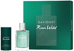 Düfte, Parfümerie und Kosmetik Davidoff Run Wild Men - Duftset (Eau de Toilette/100ml + Deodorant/70g)