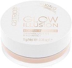 Düfte, Parfümerie und Kosmetik Leichter loser Puder mit lichtreflektierenden Pigmenten - Catrice Glow Illusion Loose Powder