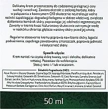 Gesichtscreme mit Grüntee-Extrakt für trockene und empfindliche Haut - Ava Laboratorium Green Tea Cream For Dry And Sensitive Skin — Bild N3