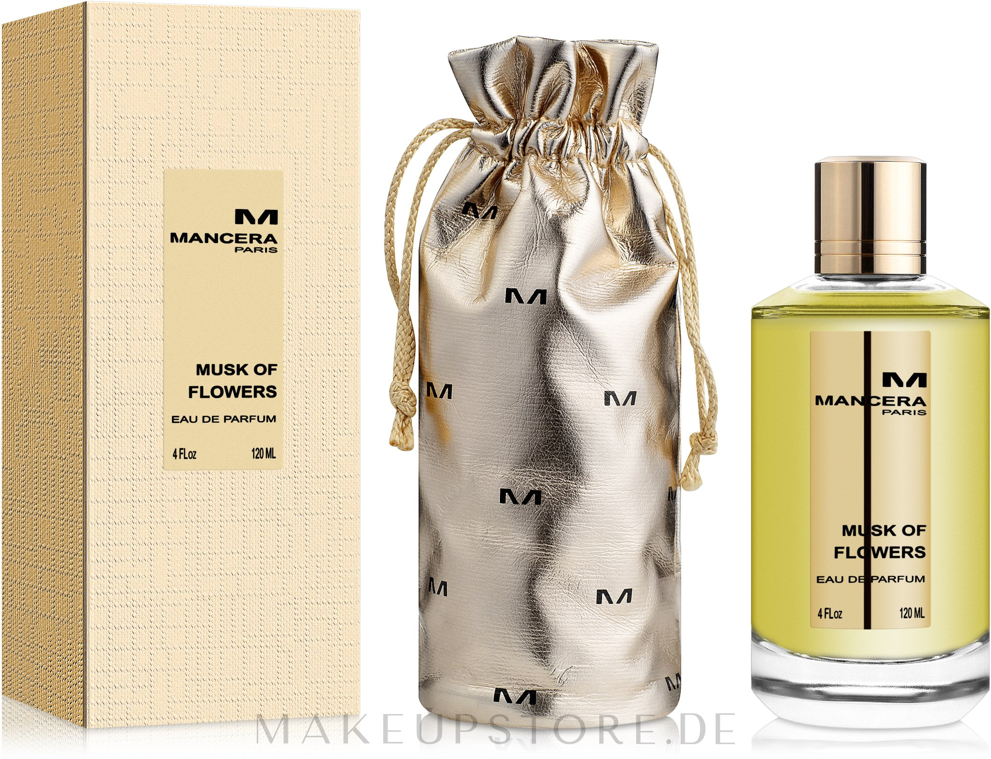 Mancera Musk of Flowers - Eau de Parfum — Bild 120 ml