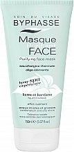 Düfte, Parfümerie und Kosmetik Gesichtsreinigungsmaske mit Efeu und Klette - Byphasse Home Spa Experience Purifying Face Mask Combination To Oily Skin