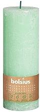 Düfte, Parfümerie und Kosmetik Stumpenkerze hellgrün 190x68 mm - Bolsius