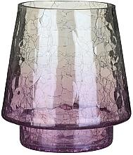 Düfte, Parfümerie und Kosmetik Kerzenhalter für Votivkerze - Yankee Candle Savoy Purple Crackle Jar Holder