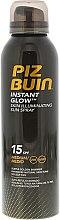 Düfte, Parfümerie und Kosmetik Bräunungsspray für den Körper mit Schimmer SPF 15 - Piz Buin Instant Glow Skin Illuminating Sun Spray SPF15