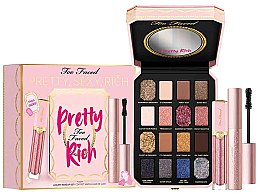 Düfte, Parfümerie und Kosmetik Make-up Set (Lidschatten-Palette 5.2g + Mascara 8ml + Lipgloss 7g) - Too Faced Pretty, Sexy, Rich Makeup Set