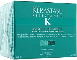 Düfte, Parfümerie und Kosmetik Regenerierende Haarmaske für sehr stapaziertes Haar - Kerastase Resistance Therapist Renewal Mask