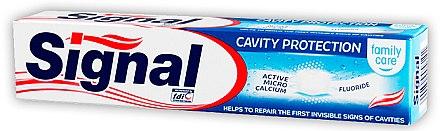 Zahnpasta Cavity Protection - Signal Family Cavity Protection Toothpaste — Bild N1