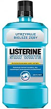 """Düfte, Parfümerie und Kosmetik Mundwasser """"Weiße Zähne"""" - Listerine Stay White"""