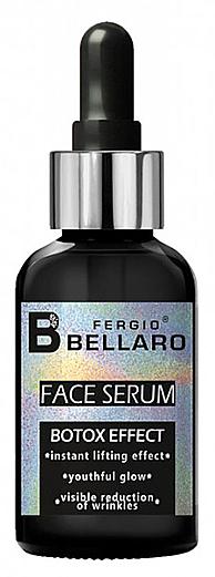Gesichtsserum mit Botox-ähnlichem Effekt - Fergio Bellaro Botox Effect Face Serum White