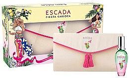 Düfte, Parfümerie und Kosmetik Escada Fiesta Carioca - Duftset (Eau de Toilette 30ml + Kosmetiktasche)