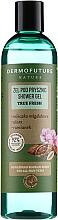 Düfte, Parfümerie und Kosmetik Duschgel mit Mandelmilch, Aloe und Kamille für alle Hauttypen - Dermofuture Nature Shower Gel True Fresh