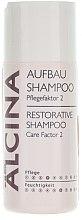 Düfte, Parfümerie und Kosmetik Feuchtigkeitsspendendes und pflegendes Aufbau-Shampoo - Alcina Care Factor 2 Restorative Shampoo