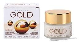 Düfte, Parfümerie und Kosmetik Revitalisierende und regenerierende Anti-Falten Gesichtscreme - Diet Esthetic Gold Cream SPF15