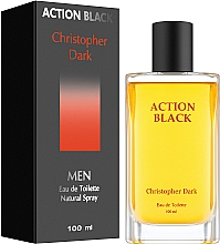 Düfte, Parfümerie und Kosmetik Christopher Dark Action Black - Eau de Toilette