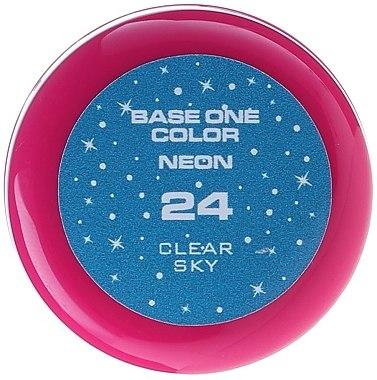 Gel Nagellack Neon - Silcare Base One UV Gel Color Neon — Bild N4