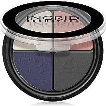 Düfte, Parfümerie und Kosmetik Lidschatten - Ingrid Cosmetics Casablanca Eye Shadows