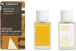 Düfte, Parfümerie und Kosmetik Korres White Tea Bergamot Freesia - Eau de Toilette