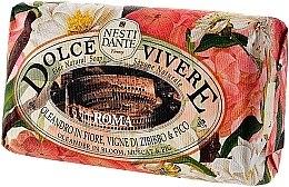 Düfte, Parfümerie und Kosmetik Naturseife Roma - Nesti Dante Natural Soap Oleander in Bloom, Muscat & Fig Dolce Vivere Collection