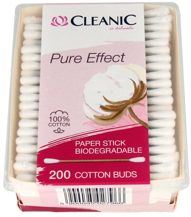 Wattestäbchen 200 St. - Cleanic Pure Effect