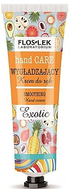 "Glättende Handcreme ""Exotic"" - Floslek Hand Care Smoothing Cream Exotic — Bild N1"