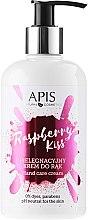 "Düfte, Parfümerie und Kosmetik Pflegende Handcreme ""Raspberry Kiss"" - APIS Professional Raspberry Kiss Hand Cream"