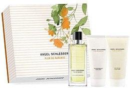 Düfte, Parfümerie und Kosmetik Angel Schlesser Flor de Naranjo - Zestaw (edt/100ml + b/lot/100ml + sh/gel/100ml)
