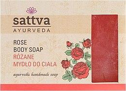 Düfte, Parfümerie und Kosmetik Parfümierte Körperseife - Sattva Hand Made Soap Rose