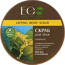 Düfte, Parfümerie und Kosmetik Meersalz Körperpeeling Lifting - ECO Laboratorie Natural & Organic Lifting Body Scrub