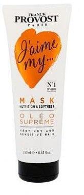Nährende und erweichende Haarmaske - Franck Provost Paris Jaime My Hair Mask — Bild N1