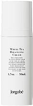 Düfte, Parfümerie und Kosmetik Ausgleichende und feuchtigkeitsspendende Gesichtscreme mit weißem Tee - Jorgobe White Tea Balancing Cream