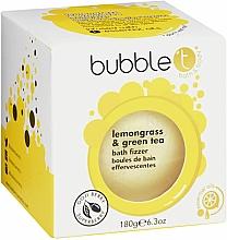 Düfte, Parfümerie und Kosmetik Badebombe Zitronengras & Grüner Tee - Bubble T Bath Fizzer Lemongrass Green Tea
