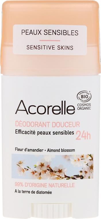 Deostick mit Mandelblüte - Acorelle Deodorant Stick Gel Almond Blossom — Bild N1