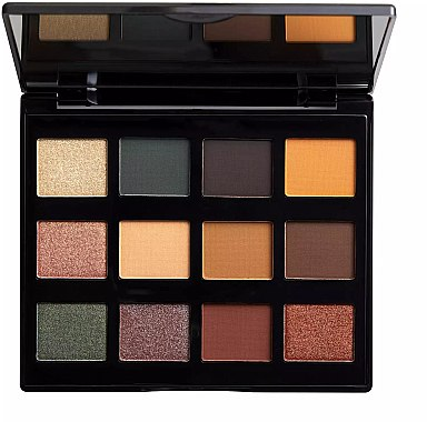 Lidschattenpalette - NYX Professional Makeup Machinist Shadow Palette Grind — Bild N2