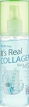 Düfte, Parfümerie und Kosmetik Gel-Nebel für das Gesicht mit Kollagen - FarmStay It's Real Collagen Gel Mist