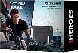 Düfte, Parfümerie und Kosmetik Gesichtspflegeset für Männer (Creme 50ml + Accessoire) - Biotherm Homme Force Supreme