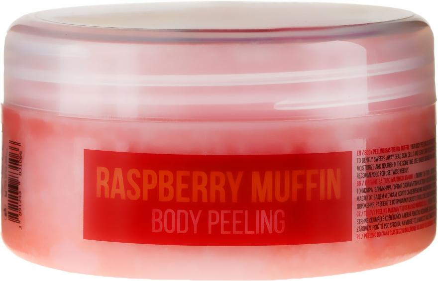 Feuchtigkeitsspendendes Körperpeeling Himbeermuffin mit Mandelöl und Sesam - Stani Chef's Raspberry Muffin Body Peeling — Bild N1