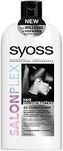 Düfte, Parfümerie und Kosmetik Haarspülung für schwaches und zerbrechliches Haar - Syoss SalonPlex Hair Conditioner